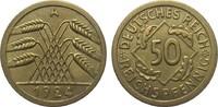 50 Reichspfennig 1924 A Weimarer Republik  besser als vorzüglich  1288.88 £ 1650,00 EUR