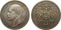 2 Mark Oldenburg 1900 A Kaiserreich  Patina, polierte Platte  1013.02 £ 1295,00 EUR free shipping
