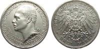 3 Mark Hessen 1917 A Kaiserreich  min. Randfehler, fast Stempelglanz  4124.95 £ 4950,00 EUR free shipping