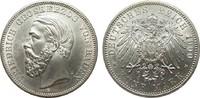 5 Mark Baden 1900 G Kaiserreich  min. Rf., vorzüglich / Stempelglanz  1091.25 £ 1395,00 EUR free shipping