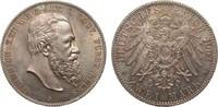 2 Mark Reuss ältere Linie 1901 A Kaiserreich  min. Kr. u. Rf., fast Ste... 669.17 £ 795,00 EUR free shipping
