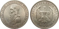 3 Mark Universität Tübingen 1927 F Weimarer Republik  wz. Kratzer, vorz... 307.23 £ 365,00 EUR free shipping
