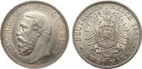 2 Mark Baden 1888 G Kaiserreich  vorzüglich / Stempelglanz  2230.56 £ 2650,00 EUR free shipping