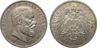 2 Mark Sachsen-Coburg und Gotha 1895 A Kaiserreich  fast vorzüglich  / ... 1001.65 £ 1190,00 EUR free shipping