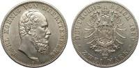 2 Mark Württemberg 1880 F Kaiserreich  Bildseite kl. Kratzer, vz, Adler... 1624.98 £ 1950,00 EUR free shipping