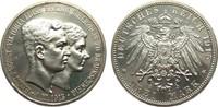 3 Mark Braunschweig OHNE Lüneburg 1915 A Kaiserreich  min. Haarlinien, ... 2903.94 £ 3450,00 EUR free shipping
