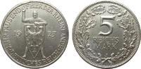 5 Mark Rheinlande 1925 J Weimarer Republik  reparierter Randfehler, fas... 248.31 £ 295,00 EUR free shipping