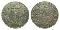 2 Gulden Danzig 1932 Kolonien und Nebengebiete  sehr schön  307.23 £ 365,00 EUR free shipping