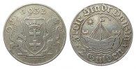 2 Gulden Danzig 1932 Kolonien und Nebengebiete  sehr schön  285.12 £ 365,00 EUR