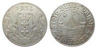 2 Gulden Danzig 1932 Kolonien und Nebengebiete  gutes sehr schön  292.93 £ 375,00 EUR