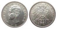 2 Mark Bayern 1896 D Kaiserreich  Bildseite min. berieben, fast Stempel... 207.00 £ 265,00 EUR