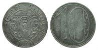 10 Pfennig Danzig 1920 Kolonien und Nebengebiete  sehr schön  500.82 £ 595,00 EUR free shipping