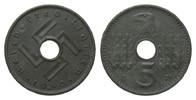 5 Pfennig Reichskreditkassen 1940 F Kolonien und Nebengebiete  wz. Flec... 352.02 £ 450,00 EUR free shipping