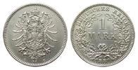 1 Mark 1881 E Kaiserreich  fast Stempelglanz  366.15 £ 435,00 EUR free shipping