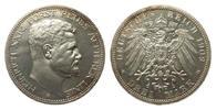 3 Mark Reuss älterer Linie 1909 A Kaiserreich  kl. Kratzer, polierte Pl... 708.33 £ 850,00 EUR free shipping
