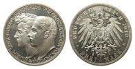 3 Mark Sachsen-Weimar-Eisenach 1910 A Kaiserreich  wz. Kratzer, poliert... 253.87 £ 325,00 EUR