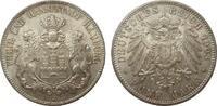 5 Mark Hamburg 1903 J Kaiserreich  kl. Kratzer, fast Stempelglanz  290.39 £ 345,00 EUR free shipping