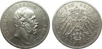 5 Mark Anhalt 1896 A Kaiserreich  vorzüglich  1523.22 £ 1950,00 EUR