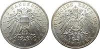 5 Mark Lübeck 1913 A Kaiserreich  fast Stempelglanz / Stempelglanz  777.24 £ 995,00 EUR