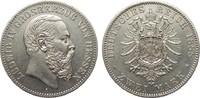 2 Mark Hessen 1888 A Kaiserreich  gutes vorzüglich  3085.51 £ 3950,00 EUR