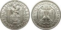 3 Mark Dinkelsbühl 1928 D Weimarer Republik  fast Stempelglanz  527.27 £ 675,00 EUR