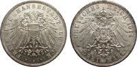3 Mark Lübeck 1914 A Kaiserreich  Wertseite im unteren Bereich berieben... 273.56 £ 325,00 EUR free shipping