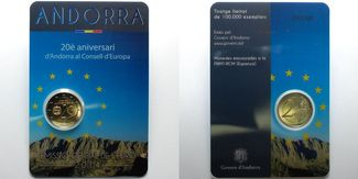 2 Euro 2014  Andorra 20 J. Mitgliedschaft ...