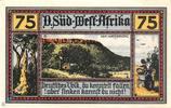 GERMANY 1 MILLION MARK NEUSTSDT AISCH BANKNOTE NOTGELD 1923 VF