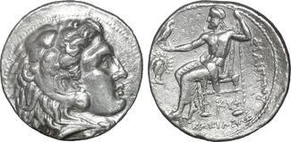 Kings of Macedon  Babylon mint Tetradrachm / Tetra