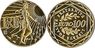 100 € 2008 FRANCE  st