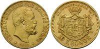 10 Kronen 1901, Schweden, Oskar II., 1872-...