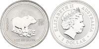 Dollar 2007 Australien Lunar Series Year of the pig unc.  86.20 £ 100,00 EUR  +  8.53 £ shipping