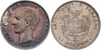 Drachme 1873 A Griechenland Georg I. 1863 - 1913 min. Randfehler, f.stgl.  116.40 £ 130,00 EUR  +  8.86 £ shipping