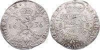 Taler 1636 Brabant Spanische Niederlande Philipp IV. (1621 - 1665) ss  148.63 £ 166,00 EUR  +  8.86 £ shipping