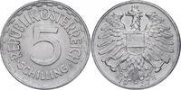 5 Schilling 1957 Österreich - II. Republik  f.stgl., R  555.12 £ 620,00 EUR  +  8.86 £ shipping