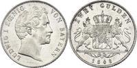 2 Gulden 1848 Deutschland - Bayern Ludwig I. (1825 - 1848) vz  137.92 £ 160,00 EUR  +  8.53 £ shipping
