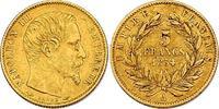 5 Francs 1854 A Frankreich Napoleon III. (1852 - 1870) f.vz  125.35 £ 140,00 EUR  +  8.86 £ shipping