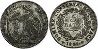 5 Batzen 1809 Schweiz - Basel  f.vz  94.82 £ 110,00 EUR  +  8.53 £ shipping
