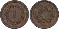 Rappen 1877 B Schweiz  vz-stgl.  98.49 £ 110,00 EUR  +  8.86 £ shipping
