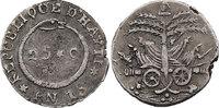 25 Centimes 1816 (Jahr 13) Haiti - Western Republic  ss  68.96 £ 80,00 EUR  +  8.53 £ shipping