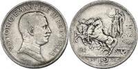 2 Lire 1917 R Italien Viktor Emanuel III. (1900 - 1946) f.vz  51.72 £ 60,00 EUR  +  8.53 £ shipping