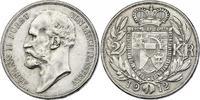 2 Kronen 1912 Liechtenstein Johann II. (1858 - 1929) vz-stgl.  67.15 £ 75,00 EUR  +  8.86 £ shipping
