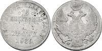 Zloty (15 Kopeken) 1839 MW Polen Nikolaus I. (1825 - 1855) ss  120.87 £ 135,00 EUR  +  8.86 £ shipping