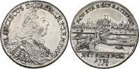 Taler 1756 ICB Deutschland - Regensburg Franz I. (1745 - 1765) vz  501.40 £ 560,00 EUR  +  8.86 £ shipping