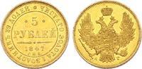 5 Rubel 1847 AG Russland Nikolaus I. (1825...