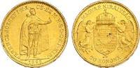 20 Korona 1895 KB Österreich - Ungarn Franz Joseph (1848 - 1916) vz-stg... 267.22 £ 310,00 EUR  +  8.53 £ shipping