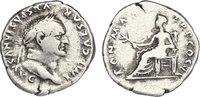 Denar  Römische Kaiserzeit (Flavier) Titus Flavius Vespasianus (69 - 79... 51.93 £ 58,00 EUR  +  8.86 £ shipping