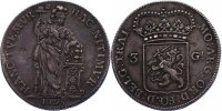 3 Gulden (Batav. Rep.) 1795 Niederlande - Utrecht  ss-vz  331.87 £ 385,00 EUR  +  8.53 £ shipping