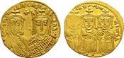 BYZANZ AV-Solidus, 792-793 Konstantinopel Vorzügli