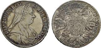 RÖMISCH-DEUTSCHES REICH 1/2 Taler 1770 (IC - SK) W